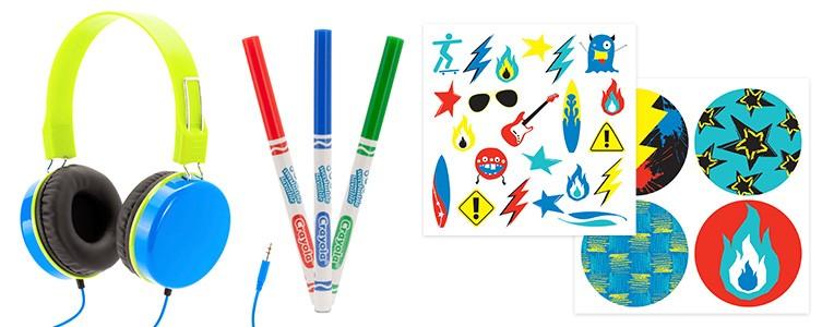 Griffin Crayola MyPhones Children s Headphones Boys Blue ...
